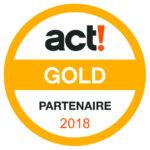 centre partenaire act Gold 2018